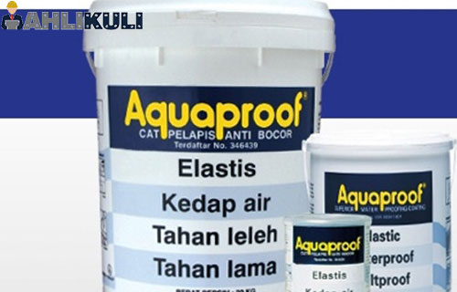 Manfaat Menggunakan Cat Aquaproof