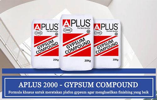 Harga Kompon Gypsum A Plus