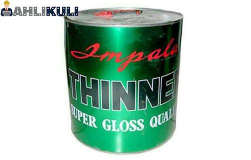 Gunakan Thinner