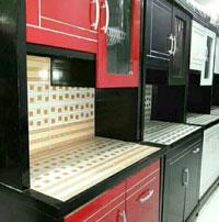 Kitchen Set Minimalis Bentuk Lemari Sayur 2 Pintu