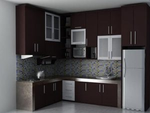 Kitchen Set Minimalis Gaya Modern