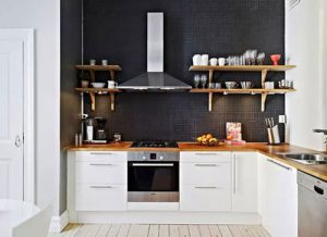 Kitchen Set Minimalis Murah Bergaya Kayu
