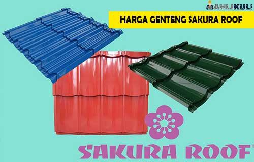 Harga Genteng Sakura Roof