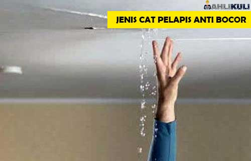 Jenis Cat Pelapis Anti Bocor