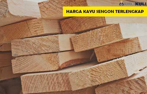 Harga Kayu Sengon