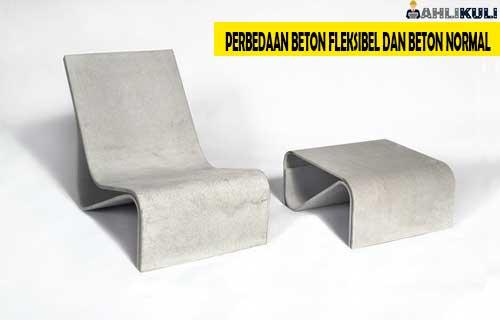 Perbedaan Beton Fleksibel dan Beton Normal