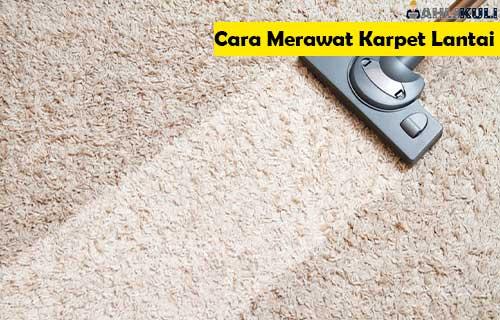 Cara Merawat Karpet Lantai 1