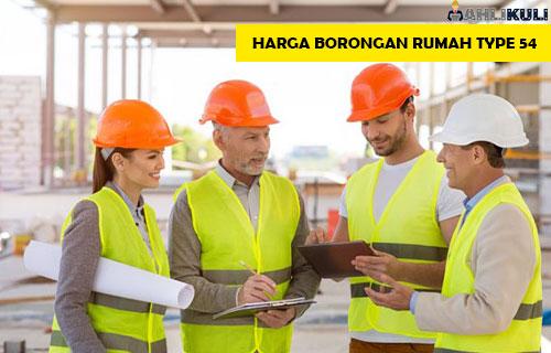 Harga Borongan Rumah Type 54