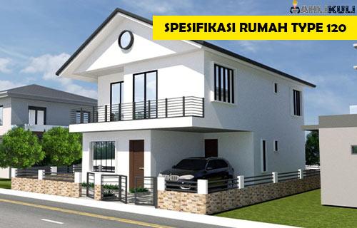 Spesifikasi Rumah Type 120