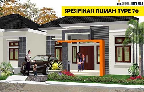 Spesifikasi Rumah Type 70