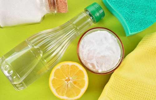 Campuran Soda Kue Garam dan Air Jeruk