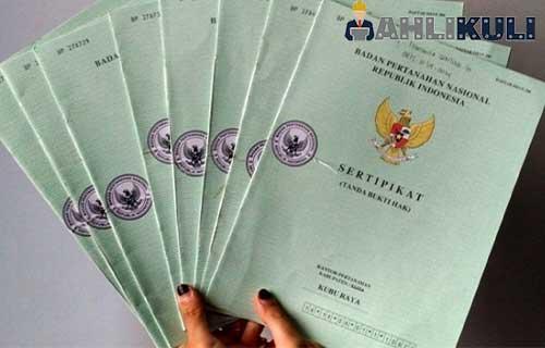 Kelengkapan Dokumen Rumah