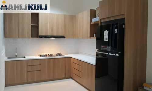 Cara Menghitung Harga Furniture HPL Kitchen Set