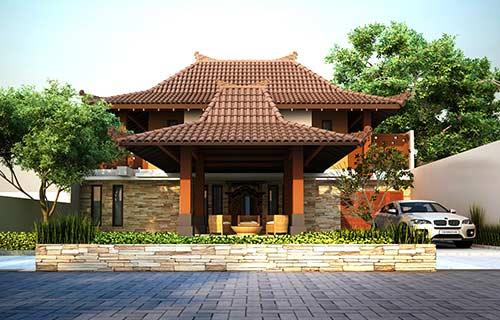 Desain Rumah Joglo Klasik