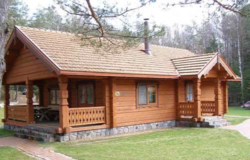 Desain Rumah Kayu Klasik