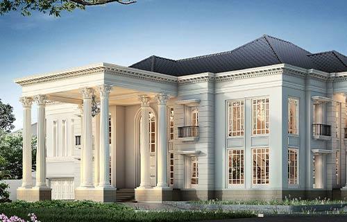 Desain Rumah Klasik Eropa