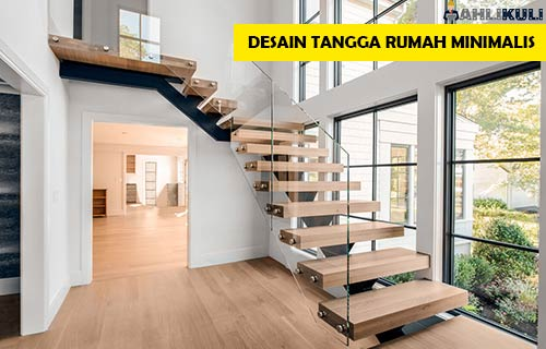 Desain Tangga Rumah Minimalis