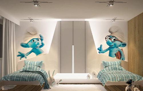 Kamar Anak Minimalis dengan Pencahayaan yang Tepat