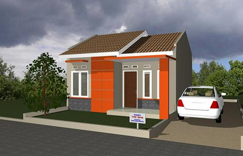 Rumah Minimalis Type 36 108