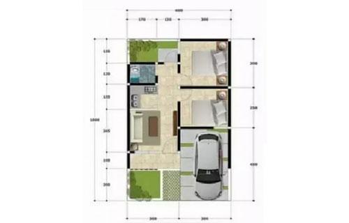 Rumah Minimalis Type 36 60 1