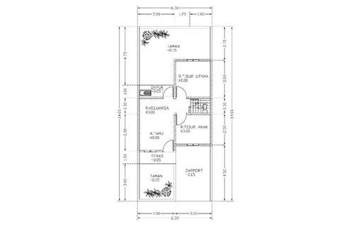 Rumah Minimalis Type 36 Sederhana 1