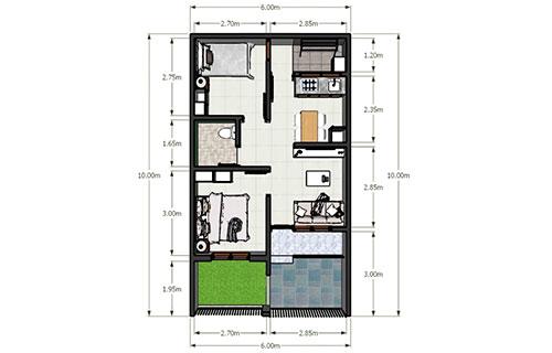 Rumah Minimalis Type 36 Standar 1