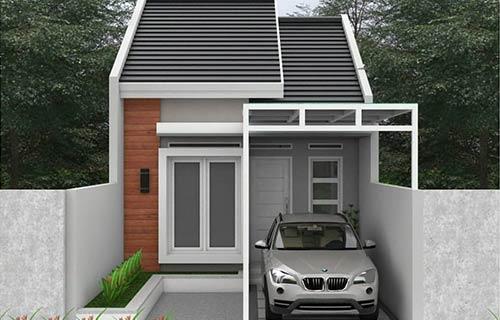 Rumah Minimalis Type 36 dengan Tempat Parkir