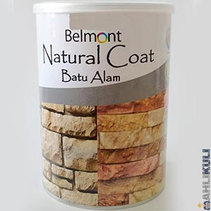Harga Cat Belmont Natural Coat Stone