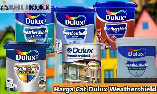 Harga Cat Dulux Weathershield
