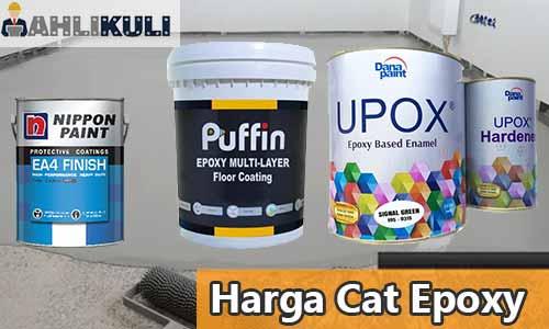 Harga Cat Epoxy