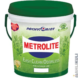 Harga Cat Metrolite Easy Clean Odorless