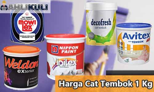 Harga Cat Tembok 1 Kg