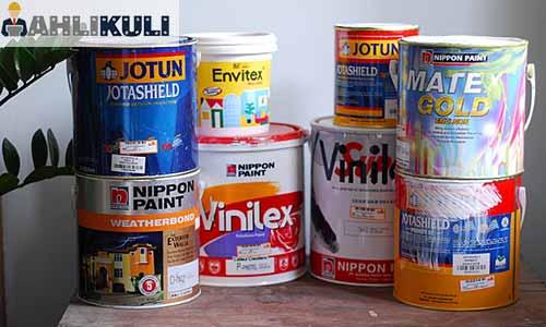 harga cat tembok 1 kg berbagai merk