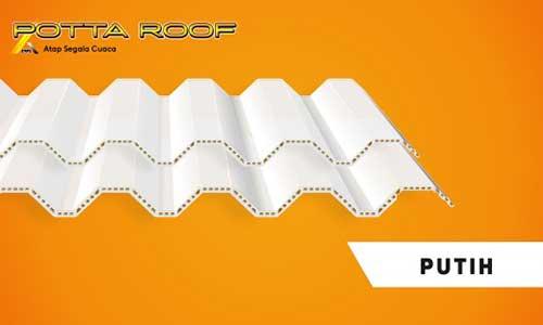 Harga Potta Roof Putih