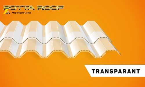 Harga Potta Roof Transparan