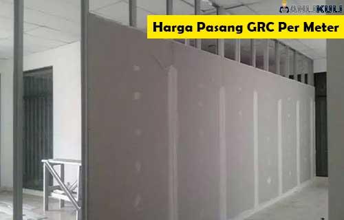 Harga Pasang GRC Per Meter Material